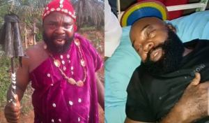 Nollywood Actor, Prince Emeka Ani seeks financial support on sick bed (video)