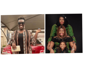 Three generations of beauty – Warri pikin shares adorable photo of herself, mom & daughter to celebrate mother's day