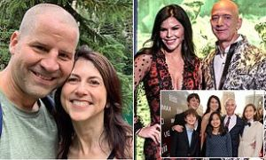 Amazon founder Jeff Bezos' ex-wife marries new lover after divorce from billionaire