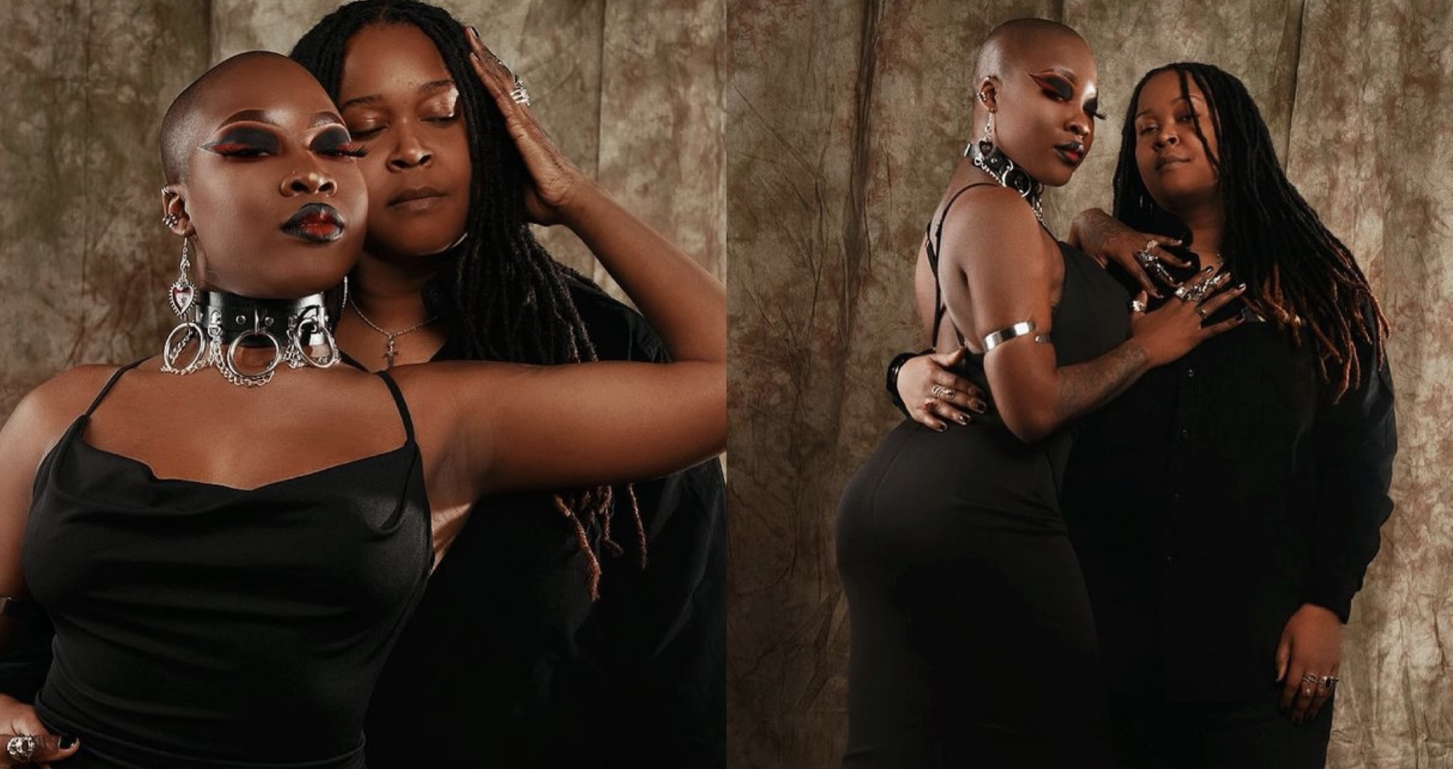 Charley Boy's daughter, Dewy Oputa marks 3 years anniversary with her L3sbian partner (photo)