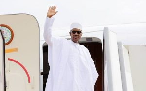 Buhari leaves for London on medical vacation