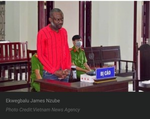Vietnam drug, Nigerian man sentenced to death in Vietnam for drug trafficking, Effiezy - Top Nigerian News & Entertainment Website