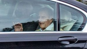 Prince Philip leaves hospital after one month