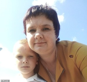 Russian mother kills eight-year-old son by pouring gasoline into his mouth then setting him on fire