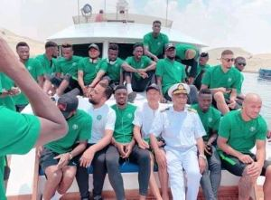 Bad roads force Nigeria to travel by sea for AFCON qualifier