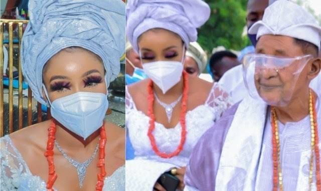 82-year-old Alaafin of Oyo marries young Eastern kady, Chioma as his 13th wife