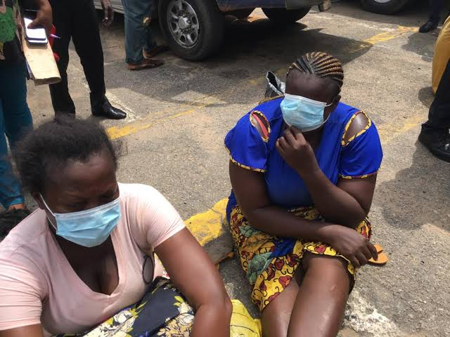 , Police arrest woman who sold five month old baby to Lagos couple for N900,000, Effiezy - Top Nigerian News & Entertainment Website