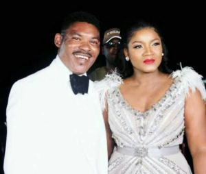 Actress Omotola Jalade-Ekeinde and hubby mark 25th wedding anniversary with cute photo