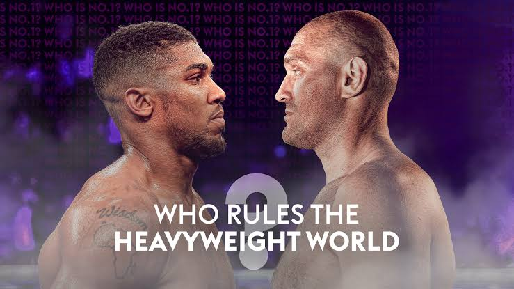 Anthony Joshua and Tyson Fury to battle for world heavyweight title