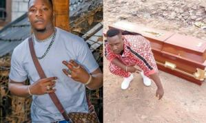 Popular Kenyan musician buys his own coffin in anticipation for his funeral