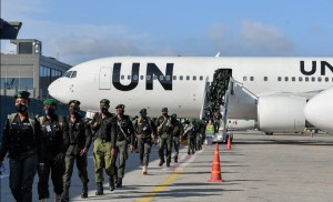 144 Nigerian police officers arrive to boost security in Somalia