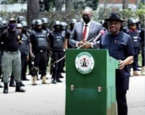 Wike launches new security outfit to flush ESN in Rivers