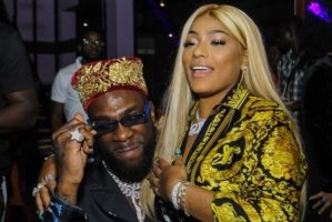 Stefflon Don deletes all pictures of Burna boy from her instagram page