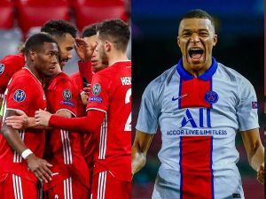 Kylian Mbappe, Mbappe leads PSG to victory over Bayern Munich, Chelsea cruise against Porto in UCL, Effiezy - Top Nigerian News & Entertainment Website