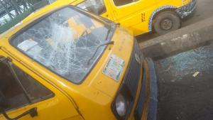Airman killed by mob in Oshodi, many stranded as soldiers 'Take Over' (Video)