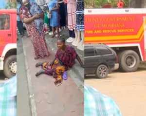Lady caught begging while pretending to be a disabled mother arraigned in Tanzanian court (Photo)