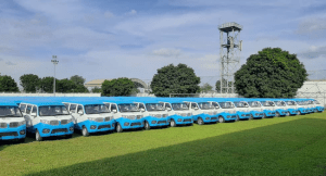 Lagos govt finally launches First and Last-Mile buses to replace 'Okada'