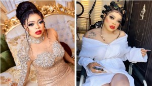 Bobrisky welcomes himself to womanhood, says he's finally removed his male organ