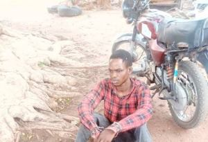 24yr old man, caught with fresh human heads in Kwara