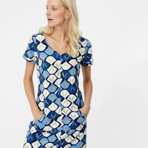 Whitestuff Jersey dress blue