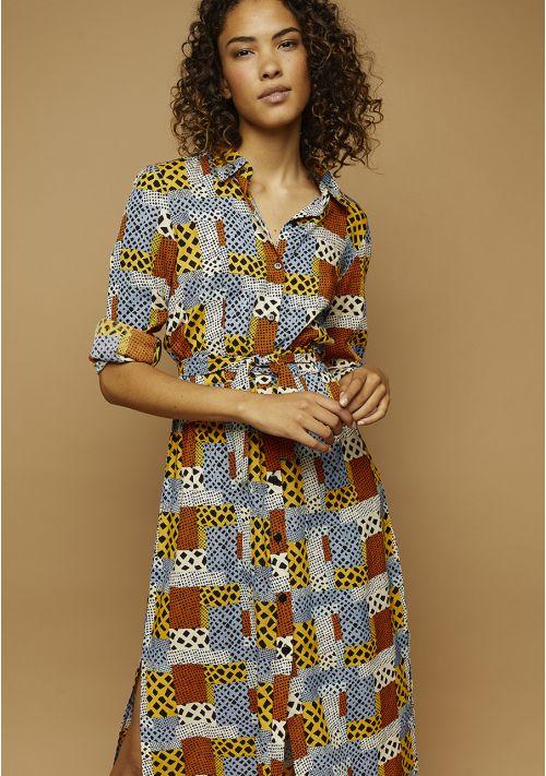animal print shirt dress Tralee Boutique