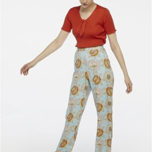 floral trousers summer occasion
