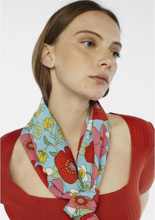 poppy print scarf accessories Tralee