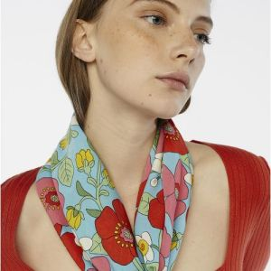 poppy print scarf accessories Tralee