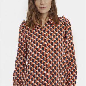 print blouse shirt hearts