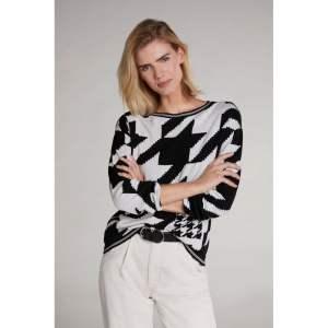 oui knit sweater jacquard