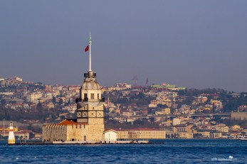 The maiden tower with its sad legends from Istanbul Turkey
