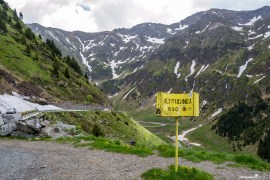 Capra Waterfall - the fourth stop on the Transfagarasan road