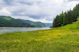 Vidraru Lake - the third stop on the Transfagarasan road