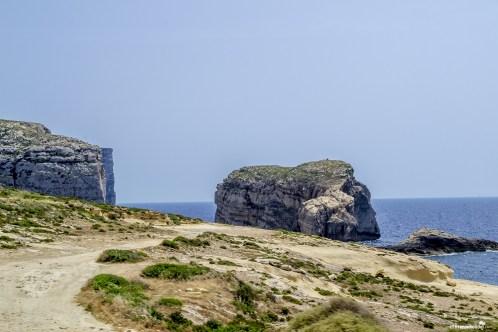 Malta Gozo Fungus Rock