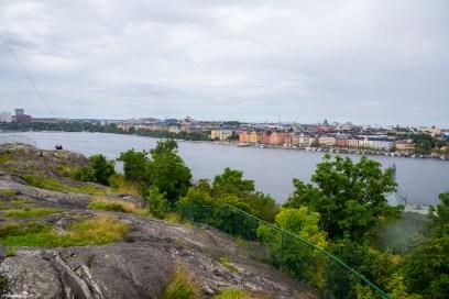 Having a picnic in Stockholm