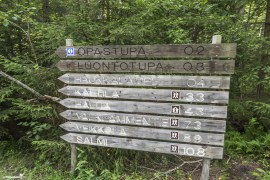Directions to the visitors center of the Nuuksio National Park