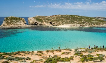 What to see in Malta: The breathtaking Blue Lagoon on the island of Comino