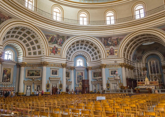What to see in Malta: Rotunda of Mosta, Malta
