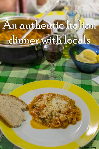 An Authentic Italian Dinner With Locals