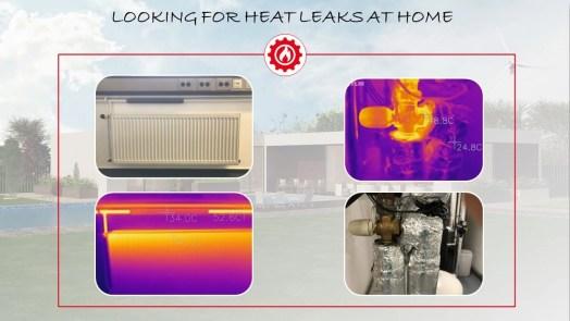 Heat leaks FLIR ONE
