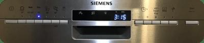 Dishwasher cycles Settings