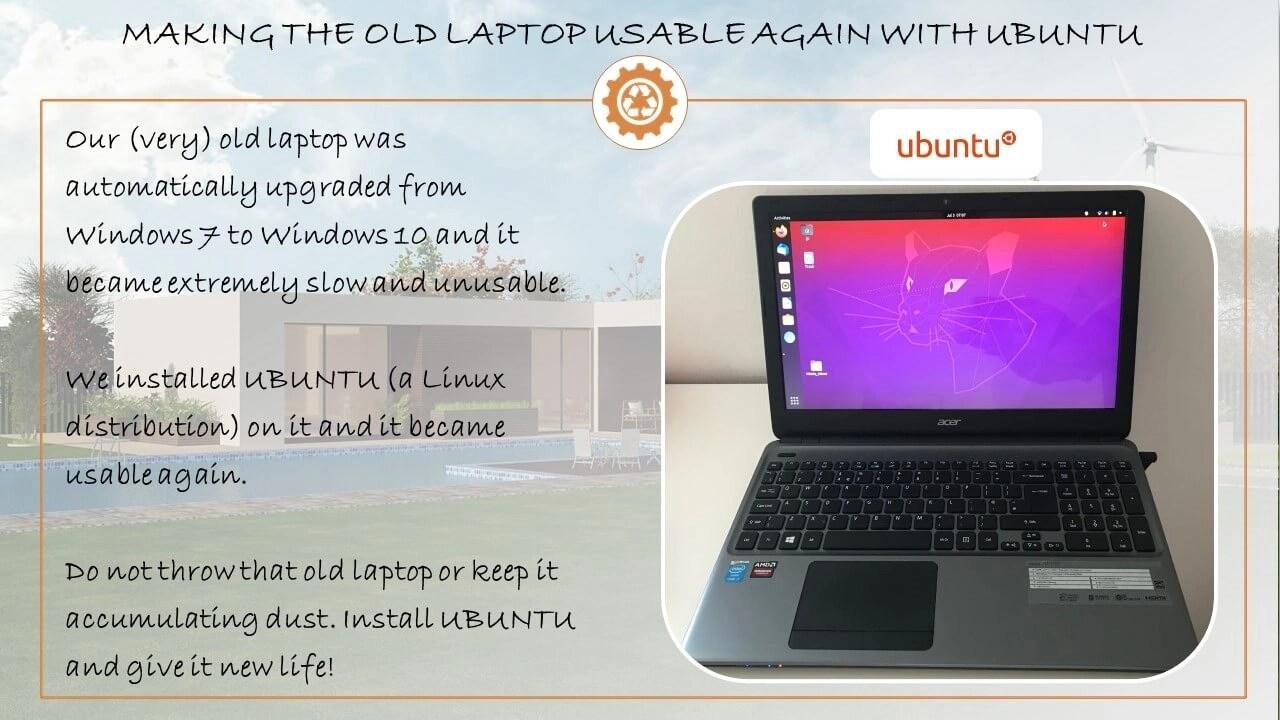 old laptop ubuntu