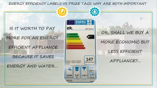 Efficiency label Vs Prize tag