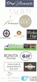 Some of the local businesses providing auction items