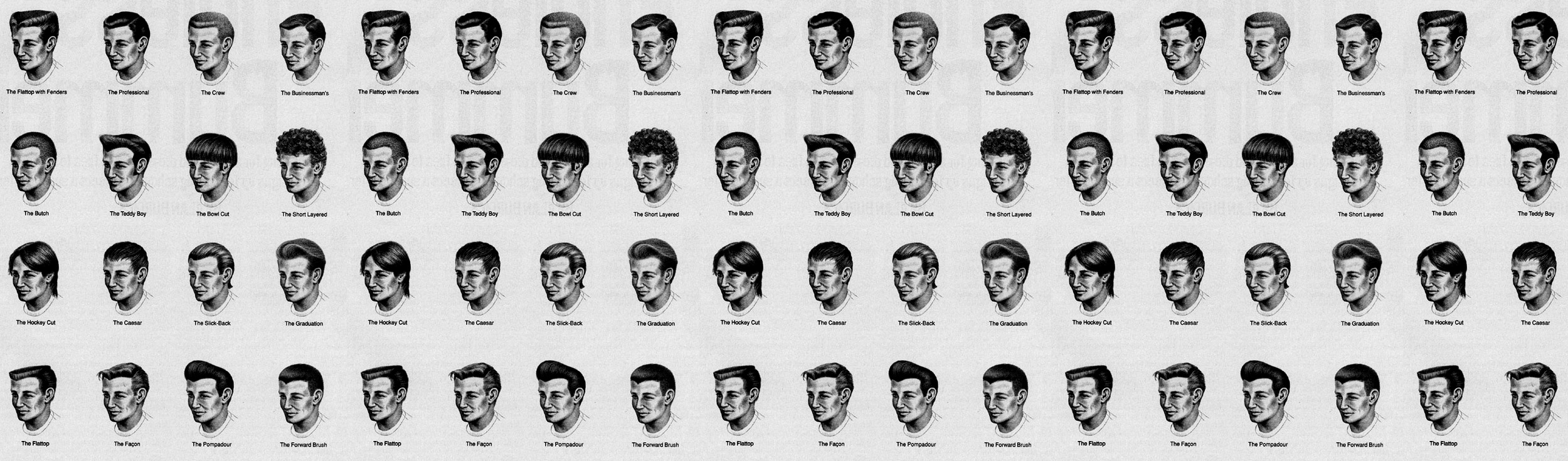 Hairstyles For Men Does Your Haircut Fit Your Face? • Effortless Gent