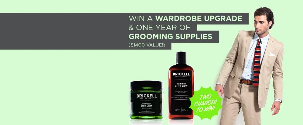 GIVEAWAY: Two Chances to Win a Wardrobe Upgrade and a Year's Worth of Grooming Supplies ($1400 value!)