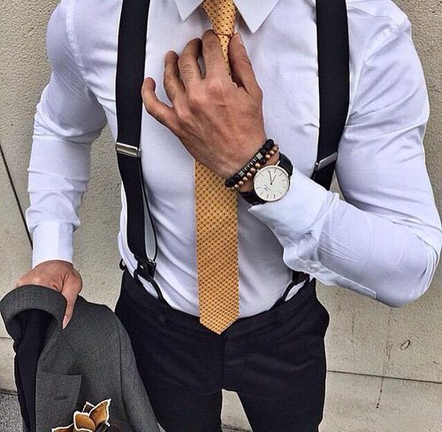 10 Simple Ways To Accessorize A Suit