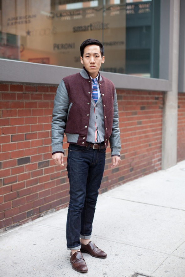 three outfit tweaks double monks jeans