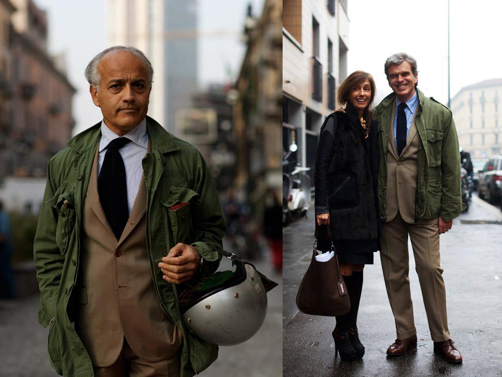 three outfit tweaks suit military jacket