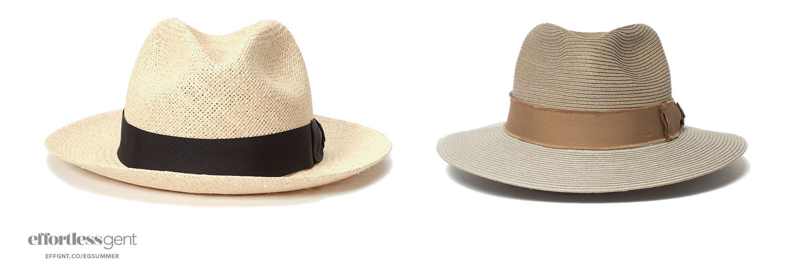 fedoras - summer clothes for men - effortless gent